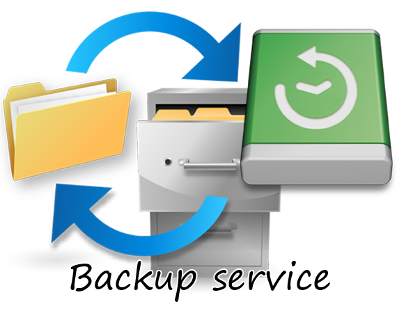 Backup service Advanced package