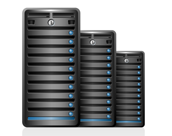 Dedicated Server hosting Tower Case package
