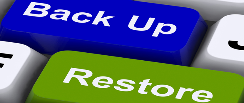 Dedicated server - backup and restore